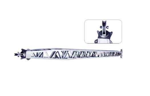 铝合金式锰钢内悬浮抱杆