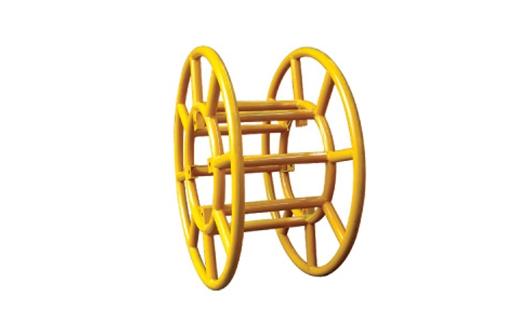 牵引机专用钢丝绳线盘架