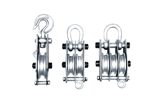 绳索用铝滑车
